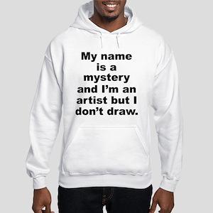 Mystery Riddle Costume Shirt Hooded Sweatshirt