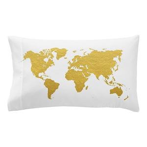 World Map Pillow Cases Cafepress