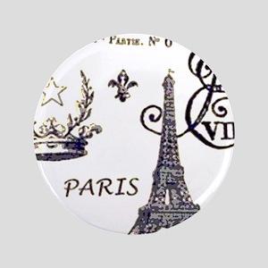 Paris XV Button