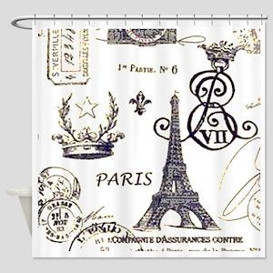 Paris XV Shower Curtain