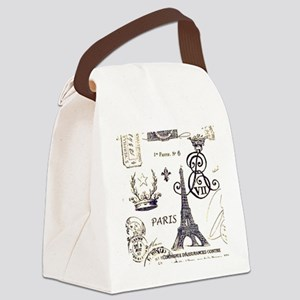Paris XV Canvas Lunch Bag