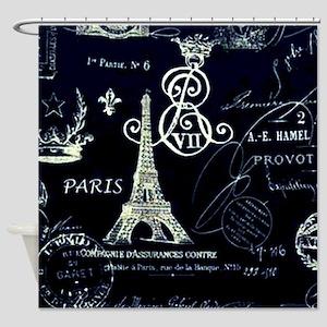 Paris XVIII Shower Curtain