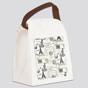 Paris XVIIII Canvas Lunch Bag