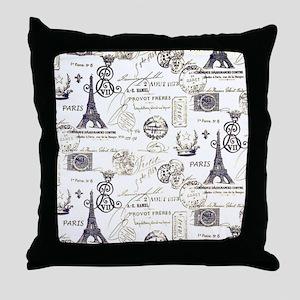 Paris XVIIII Throw Pillow