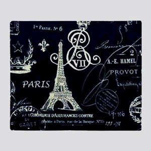 Paris XVIII Throw Blanket