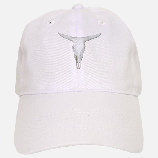 Bull Skull Baseball Baseball Cap