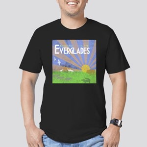 Florida Everglades Nat Men's Fitted T-Shirt (dark)