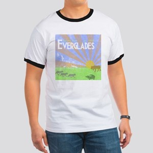 Florida Everglades National Park Vintage  Ringer T