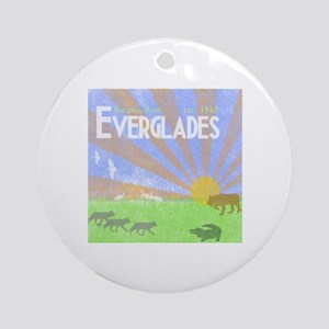 Florida Everglades National Park Vi Round Ornament