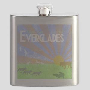 Florida Everglades National Park Vintage Pri Flask