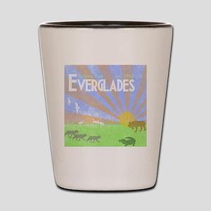 Florida Everglades National Park Vintag Shot Glass