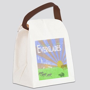 Florida Everglades National Park  Canvas Lunch Bag
