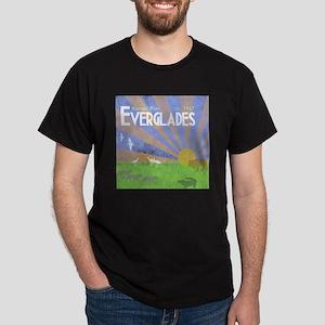 Florida Everglades National Park Vint Dark T-Shirt