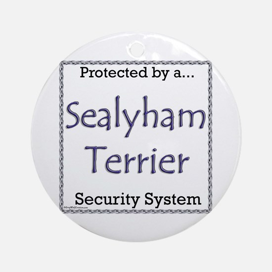 Sealy Security Ornament (Round)