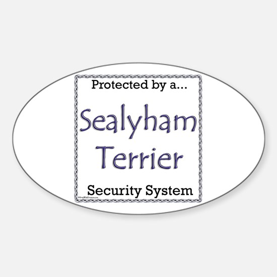 Sealy Security Oval Decal