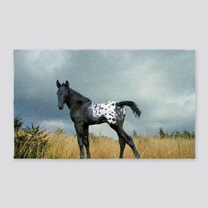 Appaloosa Colt Horse Area Rug