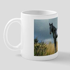Appaloosa Colt Horse Mug