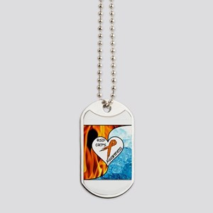 RSD*CRPS Fire & Ice Dog Tags