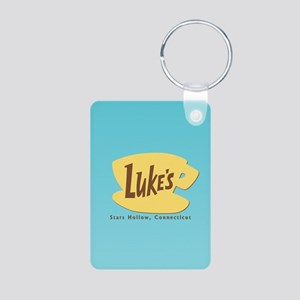 Luke's Diner Aluminum Photo Keychain