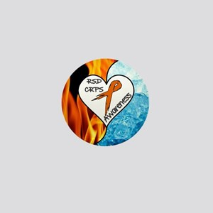 RSD*CRPS Fire & Ice Mini Button