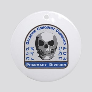Pharmacy Division - Galactic Conque Round Ornament