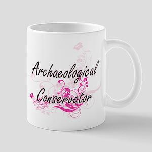 Archaeological Conservator Artistic Job Desig Mugs