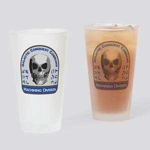 Machining Division - Galactic Conqu Drinking Glass