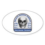 Machining Division - Galactic Sticker (Oval 10 pk)