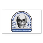 Machining Division - Galactic Sticker (Rectangle)