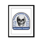 Machining Division - Galactic C Framed Panel Print