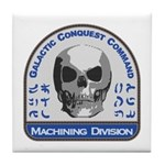 Machining Division - Galactic Conques Tile Coaster