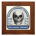 Machining Division - Galactic Conquest Framed Tile
