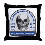 Machining Division - Galactic Conques Throw Pillow