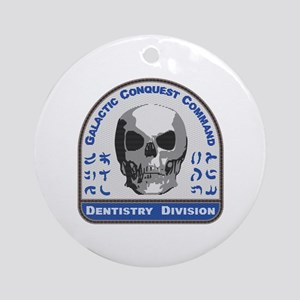 Dentistry Division - Galactic Conqu Round Ornament