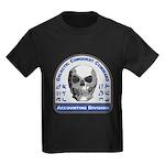 Accounting Division - Galactic C Kids Dark T-Shirt