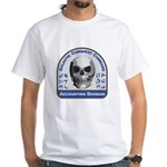 Accounting Division - Galactic Conqu White T-Shirt
