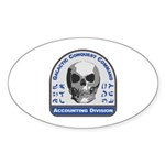 Accounting Division - Galacti Sticker (Oval 10 pk)