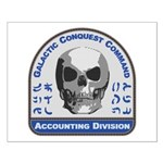 Accounting Division - Galactic Conque Small Poster