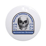Accounting Division - Galactic Conq Round Ornament