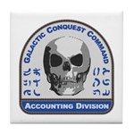 Accounting Division - Galactic Conque Tile Coaster