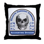 Accounting Division - Galactic Conque Throw Pillow