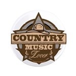 Country Lover Button