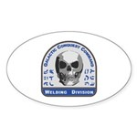 Welding Division - Galactic C Sticker (Oval 50 pk)