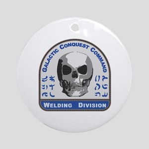 Welding Division - Galactic Conques Round Ornament