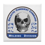 Welding Division - Galactic Conquest Tile Coaster