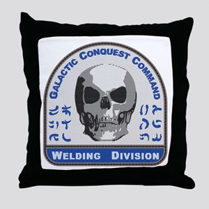 Welding Division - Galactic Conquest Throw Pillow