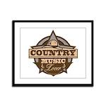 Country Lover Framed Panel Print