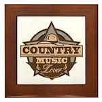 Country Lover Framed Tile