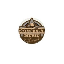 Country Lover Mini Button