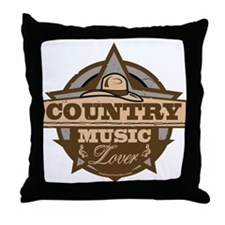 Country Lover Throw Pillow